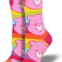 Cheer Bear Care Bears Women's Crew Socks - LAST PAIR!