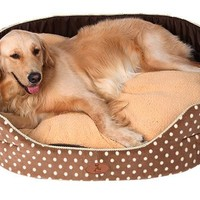 Double sided extra large dog bed s-xl