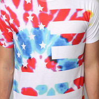 Urban Outfitters - Tie-Dye Flag Tee