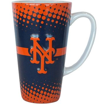 New York Mets - Logo 16 oz Latte Mug
