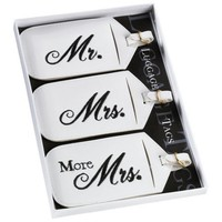Lillian Rose- Mr. And Mrs. Luggage Tags (Set of 3)