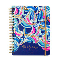 2016-2017 Lilly Pulitzer 17 Month Large Agenda - Ocean Jewels - Ryan's Daughters