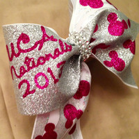 Large 3 inch cheer bow .. Uca nationals 2013,