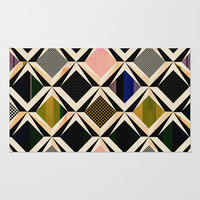 discovering diamonds Rug by SpinL