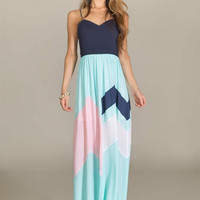 Shades of Spring Maxi Dress