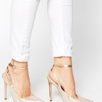 ASOS PLAY ON WORDS Pointed High Heels