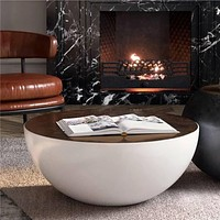 Nordic Style Bowl Designed Coffee Table