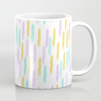 Hello Spring Pastel Pattern Mug by Allyson Johnson | Society6