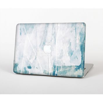 The Teal and White WaterColor Panel Skin for the Apple MacBook Air 13""