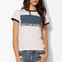 Project Social T Don't Care Tee- Ivory L