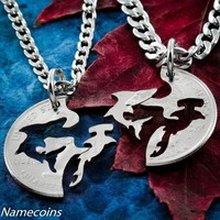 Shark Best Friend Necklaces