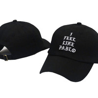 Kanye West I FEEL LIKE PABLO Black Dad Hat