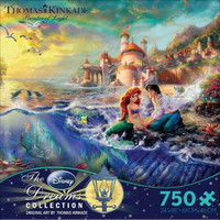Thomas Kinkade Disney Dreams Collection - The Litte Mermaid Jigsaw Puzzle