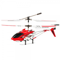 JianJian GO323 3.5 Channel Infrared RC Helicopter with Gyro Red