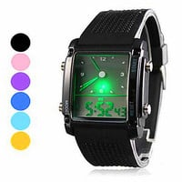 Cool Unisex Casual Sports Watch  Digital Watches Womens Best Gift