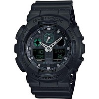 Casio G-Shock Mens LG Analog Digital Chronograph - Magnetic Resistant - Black