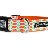 Carrot Patch Dog Collar