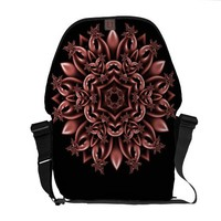 Metal mask daisy courier bags from Zazzle.com
