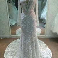 Darius Cordell #C2015-MJLS - Long Sleeve Wedding Dress