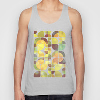 Sunny day pattern Unisex Tank Top by VessDSign