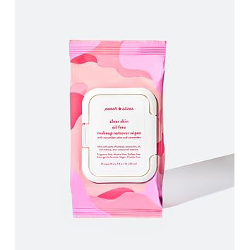 Clear Skin Oil Free Makeup Remover Wipes