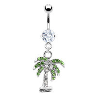 L.A. Palm Treen Navel Ring