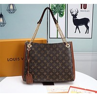 lv louis vuitton womens tote bag handbag shopping leather tote crossbody satchel 233