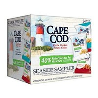 Cape Cod Kettle Seaside Sampler Potato Chips ( Pack of 24 )