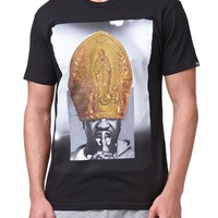 Young & Reckless Hood Pope T-Shirt - Mens Tee - Black