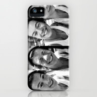 Harry Styles Beanie iPhone & iPod Case by Amara V