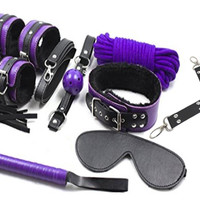 Adult Sex Cross Body Restraint Fetish Bondage Kit BDSM