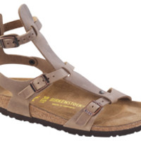Chania Tobacco Oiled Leather Sandals | Birkenstock USA Official Site