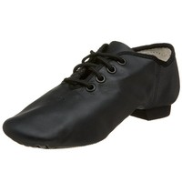 Capezio Youth E-Series Jazz Oxford, Caramel-1 M Yth