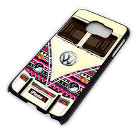 Abstract Stripes VW Minibus for Samsung Galaxy S6 Case **