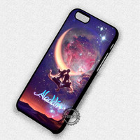 In The Moonlight Nebula Aladdin Jasmine - iPhone 7 6 5 SE Cases & Covers