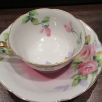 RARE SUISEI CHINA Made in Occupied Japan  DEMITASSE CUP & SAUCER