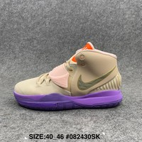 Kuyou Gx29826 Nike Kyrie 6 Beige Basketball Shoes