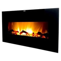 """Frigidaire Valencia 50"""" Wall Hanging Electric Fireplace with 2 Heat Settings and Remote Control"""