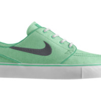 Nike SB Zoom Stefan Janoski iD Custom Women's Skateboarding Shoes - Green