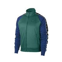 Nike Men's NSW Sportswear HBR Park Statement Track Jacket Green Blue