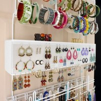 Over the Door/Wall Jewelry Organizer