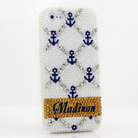 Anchor Personalized Name & Initials Design (style PN_1024)