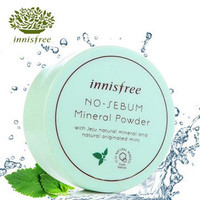 Hot Innisfree No Sebum bare Mineral Powder Matte loose Powder 5g Ruptured Foundation Fixed Honey Powder Cosmetic Stage Makeup