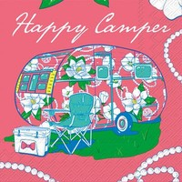 """Simply Southern """"Happy Camper"""" Napkins"""
