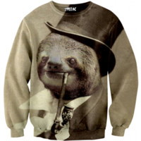 ☮♡ Old Money Sloth Sweater ✞☆