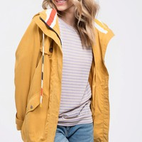 Puddle Jumper Jacket - Mustard