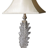 Uttermost Glass Acanthus Table Lamp - 26862