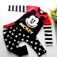 MIckey Mouse Boy Cclothing Set
