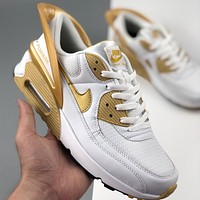Nike Air Max 90 Flyease cushioned retro running shoes