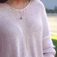 In the Moment Necklace - Gold